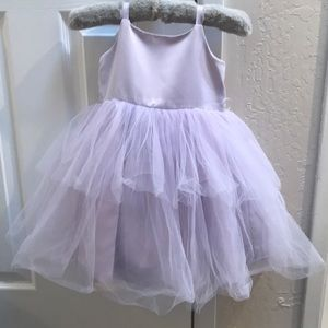 Lavender Tuelle Dress